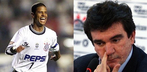 Marcelinho Carioca e Andrés Sanchez estão em rota de colisão no Corinthians