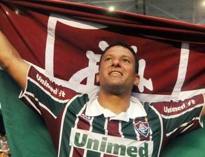 Atacante Washington está sem contrato, mas já começou a discutir a renovação com o Fluminense