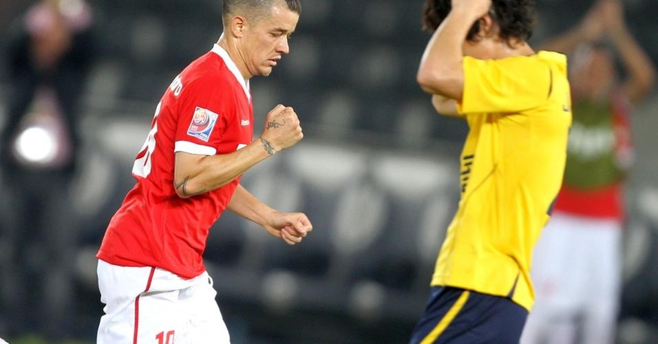 D'Alessandro comemora gol contra o Seongnam no Mundial de Clubes