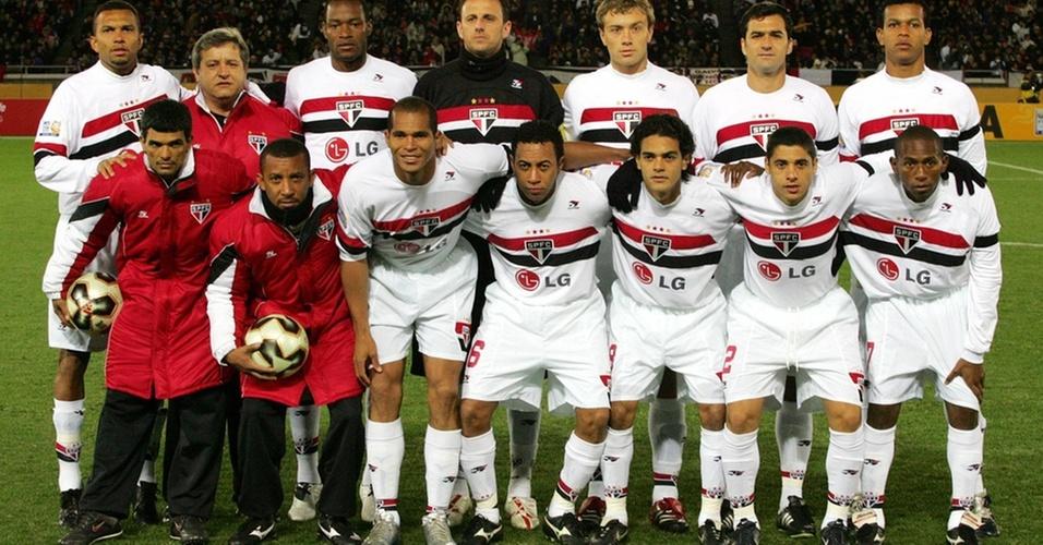 Equipe do São Paulo, campeã mundial de 2005