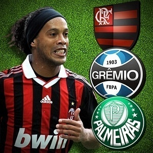 Selo maior para Escale seu Time com Ronaldinho