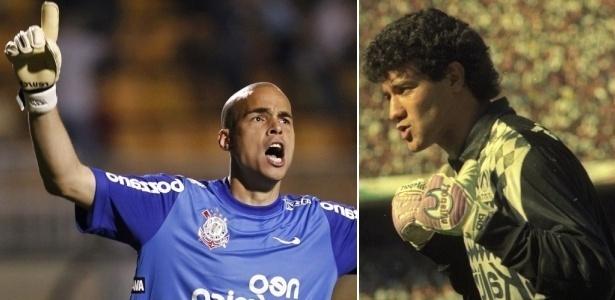 Goleiros Júlio Cesar e Ronaldo