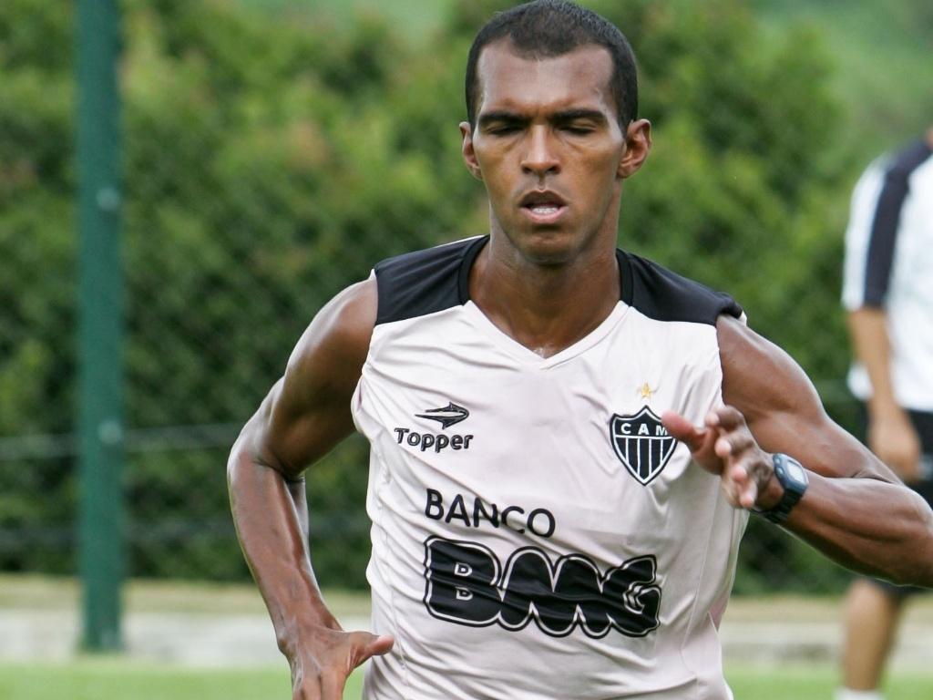 Richarlyson treina durante a pré-temporada do Atlético-MG
