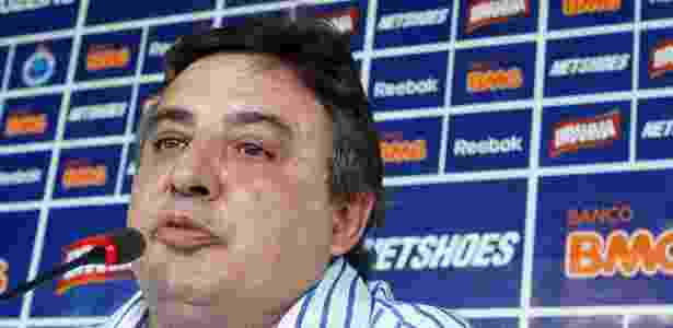 Zezé Perrella, presidente do Cruzeiro, concede entrevista coletiva - Washington Alves/Vipcomm