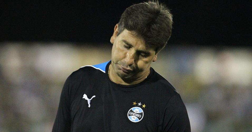 Renato Gaúcho lamenta empate gremista contra o Ypiranga