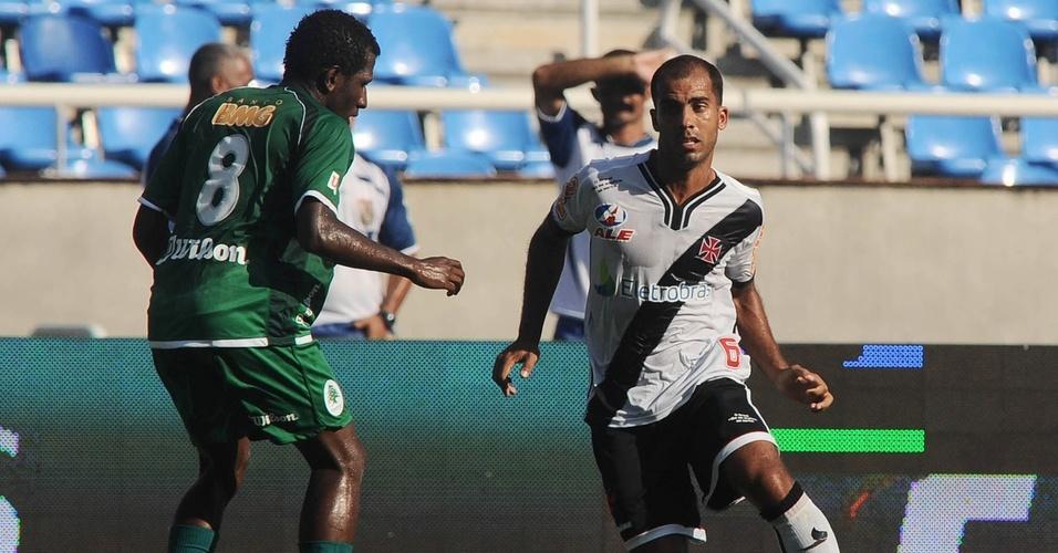 Felipe na partida do Vasco contra o Boavista