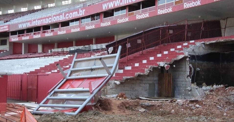 Estádio Beira-Rio vai receber Copa do Mundo de 2014
