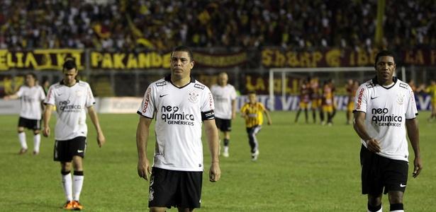 Com Ronaldo, Corinthians caiu para o Tolima na pré-Libertadores de 2011 - Mauricio Dueñas/EFE