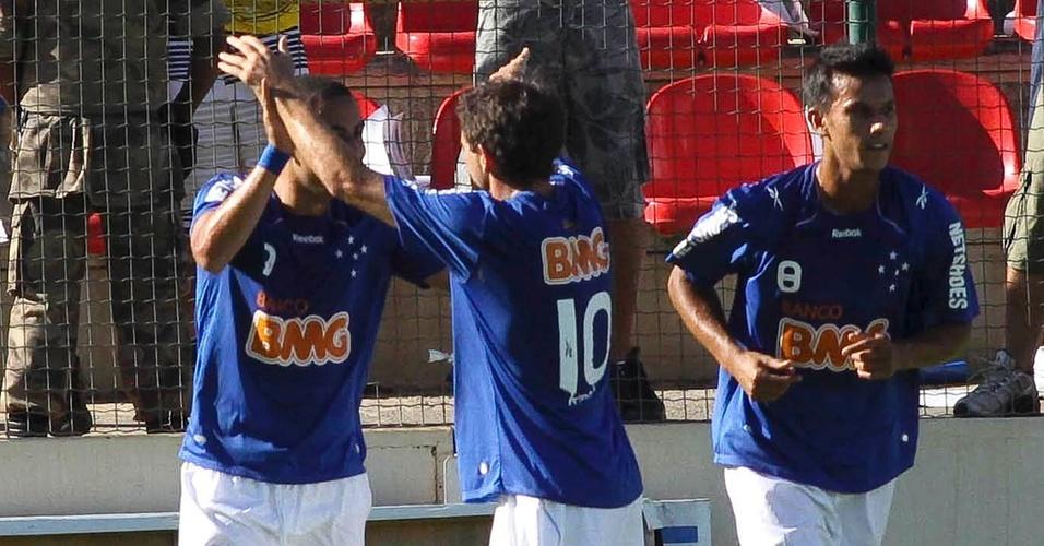 Wellington Paulista comemora gol