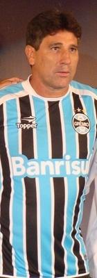 Lançamento da camisa do Grêmio com Renato Gaúcho e Dani Bolina