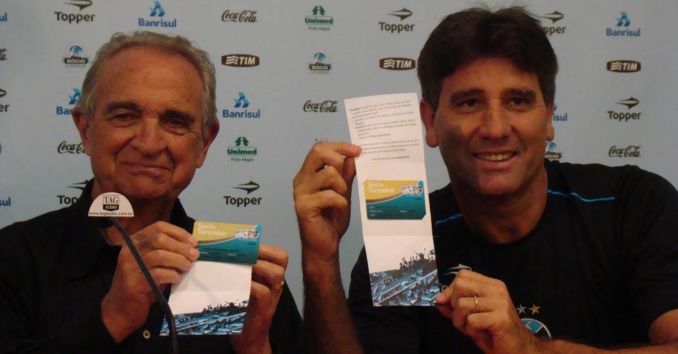Verardi e Renato Gaúcho se associam no Grêmio