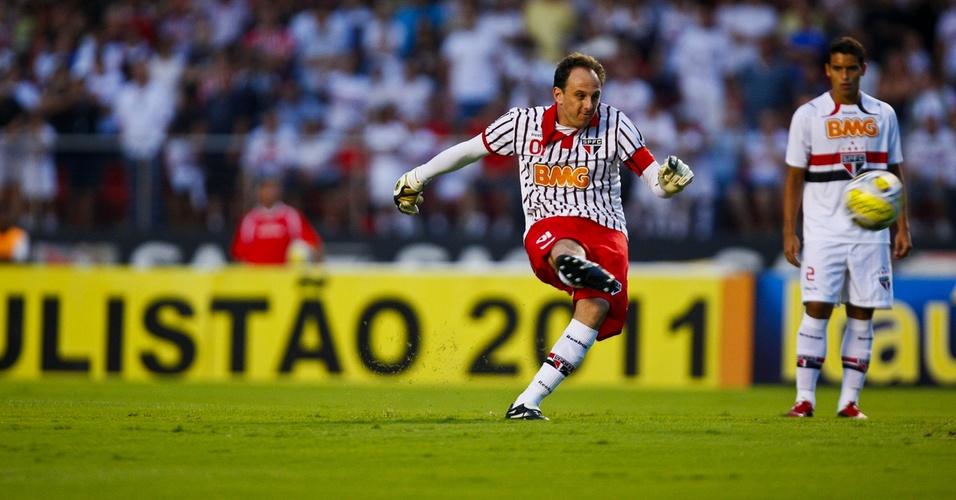 Rogério Ceni perde pênalti na vitória do São Paulo contra o Bragantino pelo Paulistão