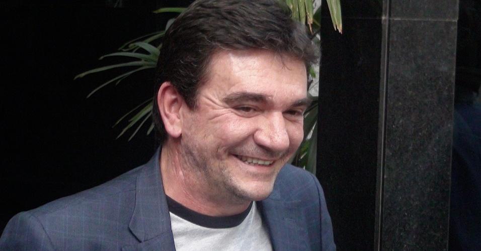 Presidente Andrés Sanchez, na sede do Clube dos 13
