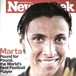 Marta, capa da revista Newsweek