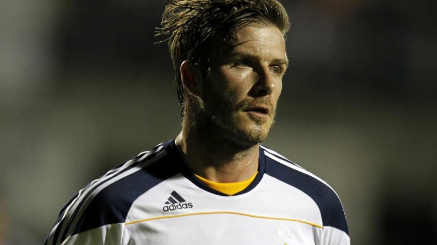 David Beckham participa de amistoso do Los Angeles Galaxy contra o Tijuana-MEX - Mike Blake/Reuters