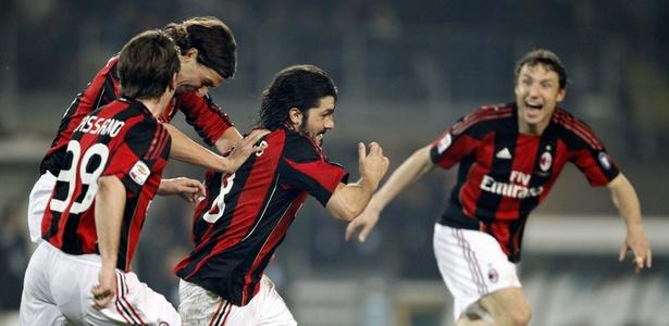 Gattuso, Ibrahimovic e Thiago Silva jogaram juntos no Milan