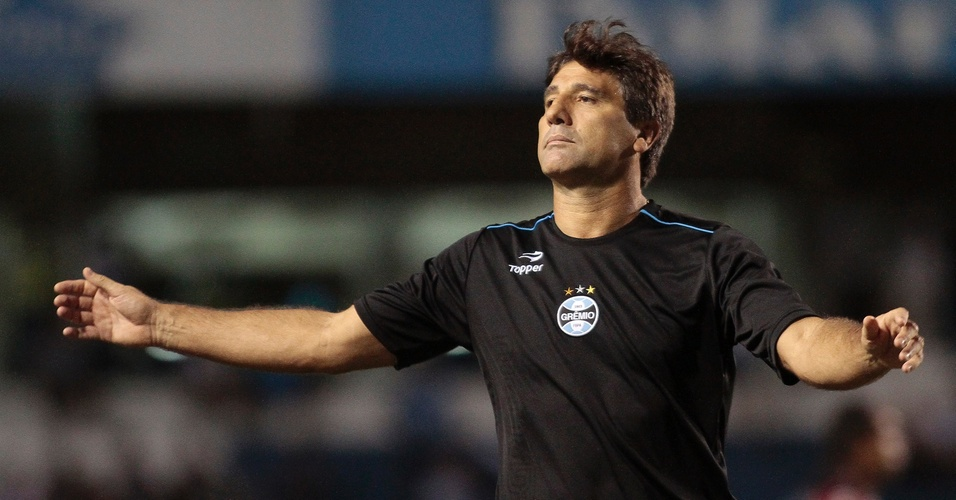 Renato Gaúcho Grêmio contra o Caxias no Campeonato Gaúcho