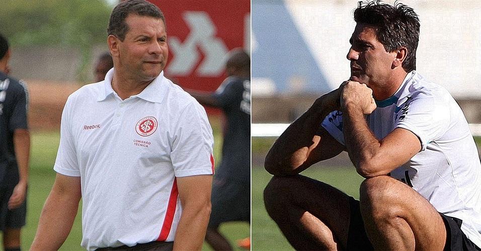 Técnicos Celso Roth e Renato Gaúcho farão duelo à parte na beira do gramado