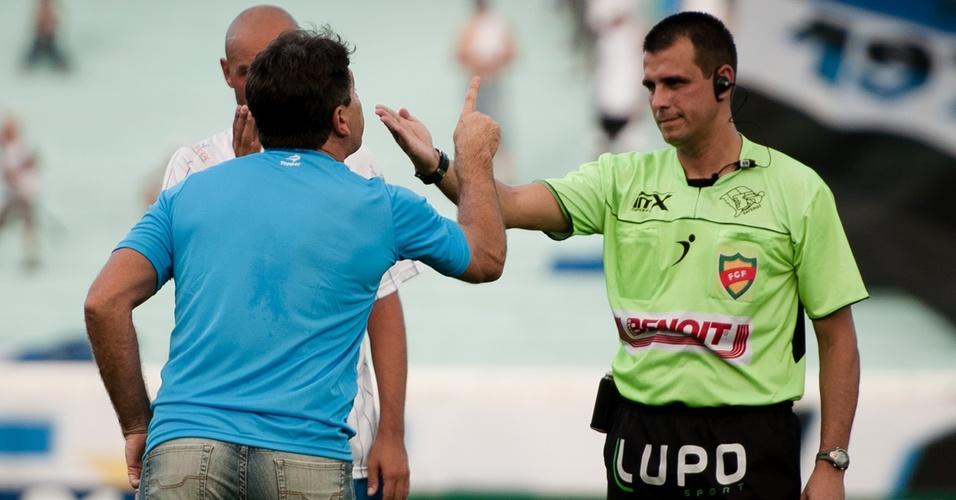 Renato Gaúcho admitiu que expuslão no Grêmio foi justa