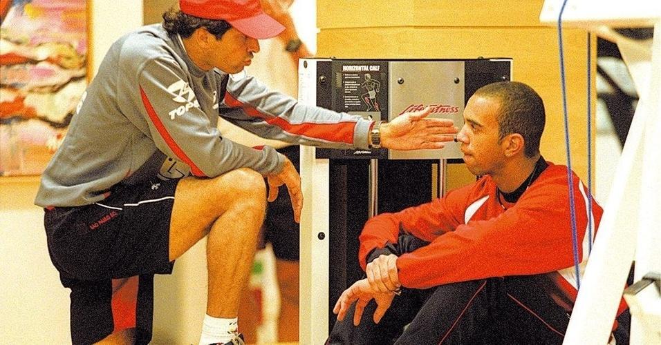Milton Cruz conversa com Diego Tardelli