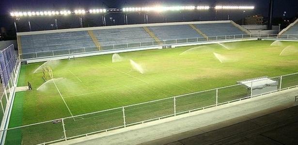 O estádio Cláudio Moacyr Azevedo (Moacyrzão), em Macaé, volta a receber o Flamengo