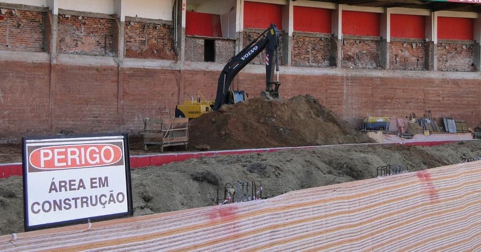 Obras de modernização do Estádio Beira-Rio do Inter para a Copa do Mundo de 2014