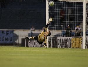 Goleiro Marcelo Grohe será titular contra o Bahia, já que Victor se apresentou a seleção brasileira