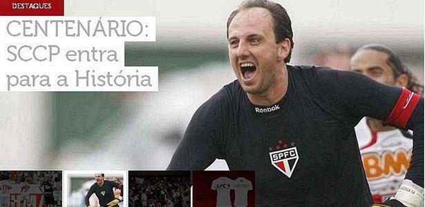 Em seu site oficial, São Paulo provoca o Corinthians