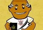 Atacante Adriano vira desenho animado em boas-vindas do Corinthians