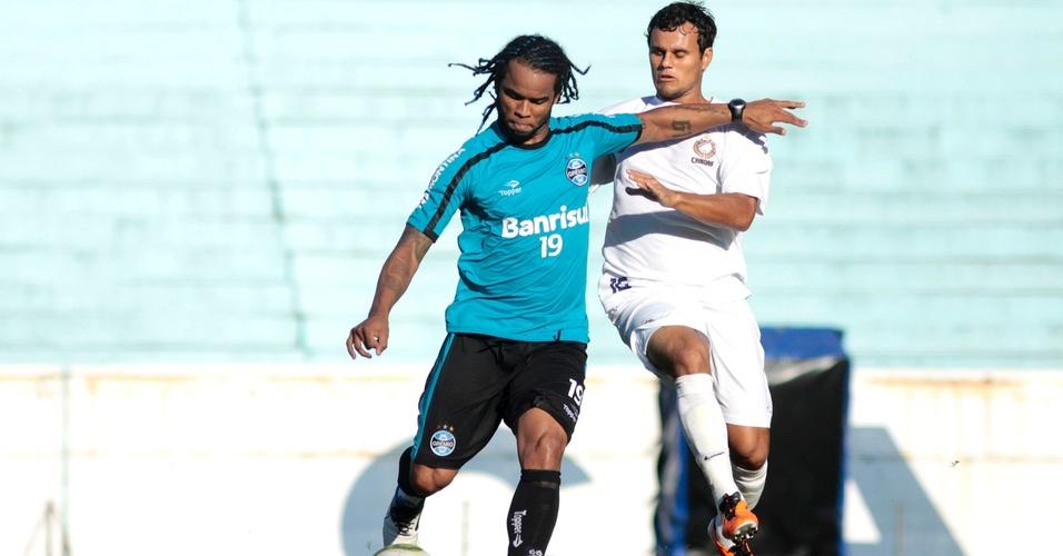 Carlos Alberto volta a treinar em jogo-treino contra o Universidade (31/03/2011)