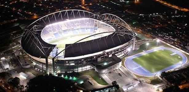 Estádio Olímpico João Havelange, o Engenhão, receberá a aguardada noitada de lutas