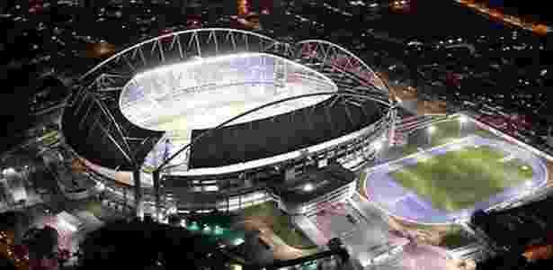 Deslocamento nos arcos causaram fechamento do estádio por tempo indeterminado - Divulgação