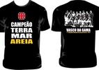 Vasco lança camisa comemorativa pelo título do mundialito de futebol de areia - Divulgação