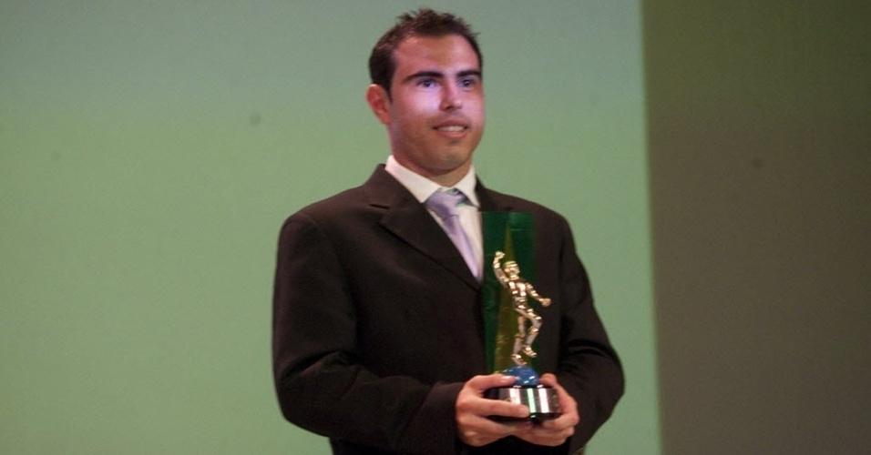 Meia Bruno César, do Corinthians, é eleito revelação do Campeonato Brasileiro