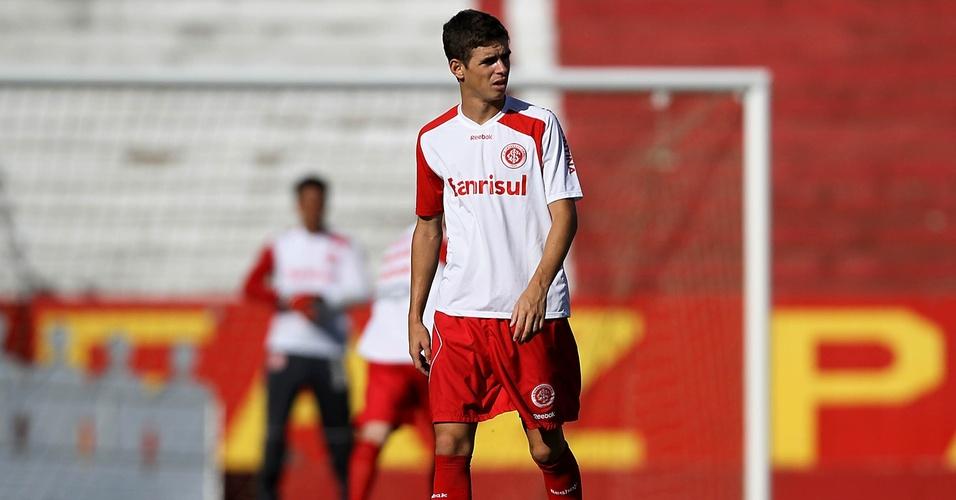 Oscar em treinamento do Inter (08/03/11)