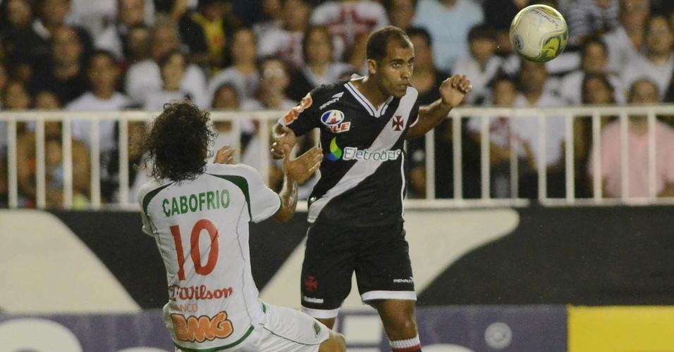 Felipe em partida do Vasco diante da Cabofriense (09/04/11)
