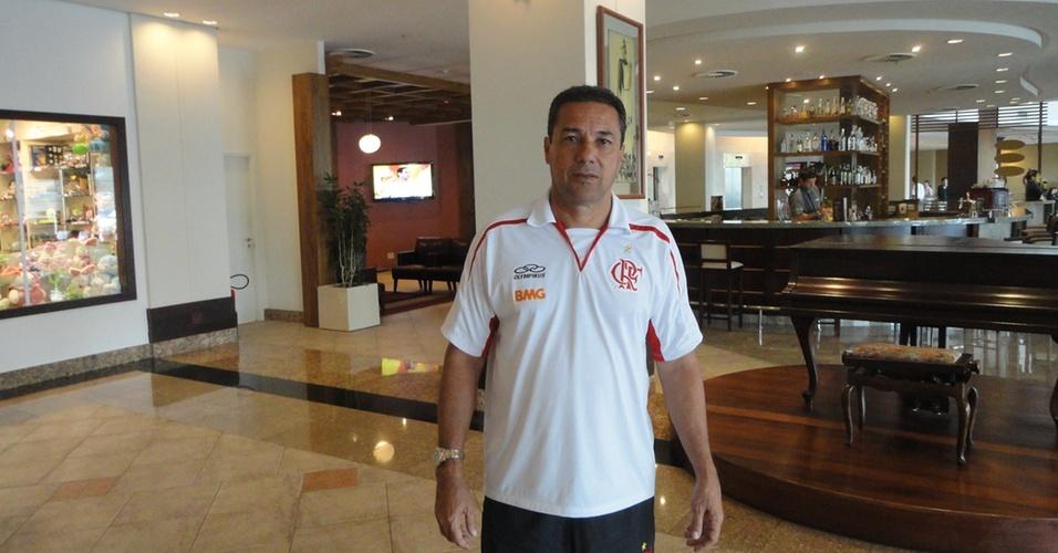 Vanderlei Luxemburgo, técnico do Fla, em entrevista exclusiva ao UOL Esporte