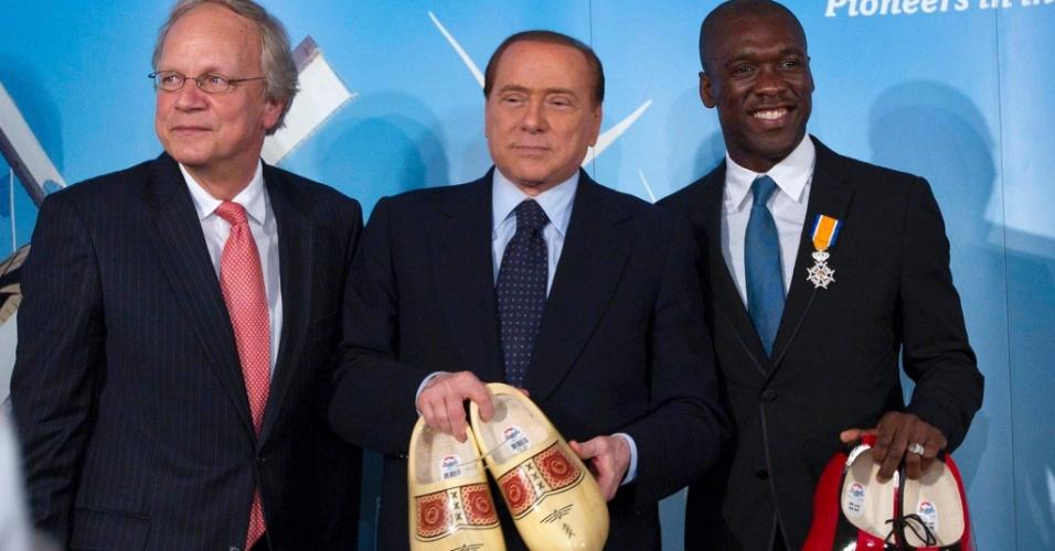 Seedorf recebe título de embaixador holandês em Roma