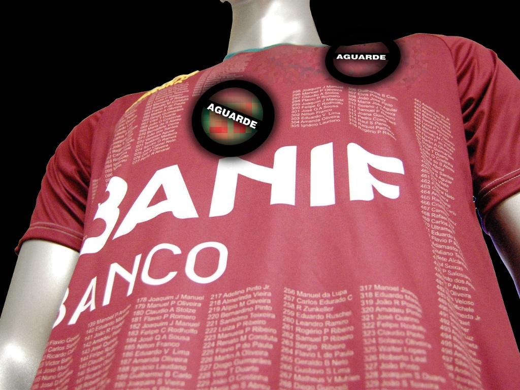 Portuguesa divulga imagem de seu novo terceiro uniforme (06/05/2011)
