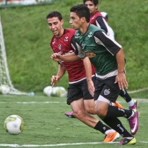 Fillipe Soutto e Renan Oliveira, que vieram da base, integram o meio-campo atleticano atualmente