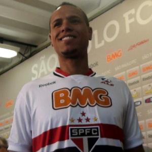O São Paulo ainda não definiu o patrocinador máster para a temporada 2012 - Bruno Thadeu/UOL