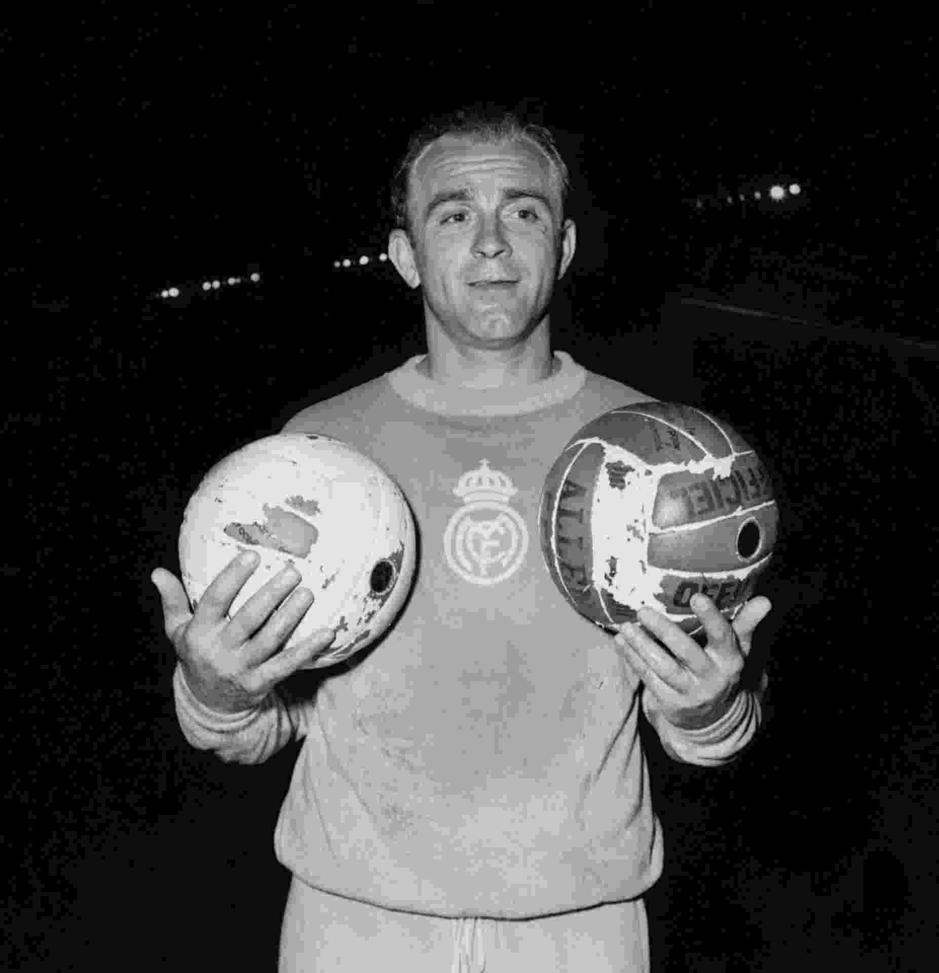 Di Stéfano, ex-jogador do Real Madrid (Arquivo) - AFP PHOTO