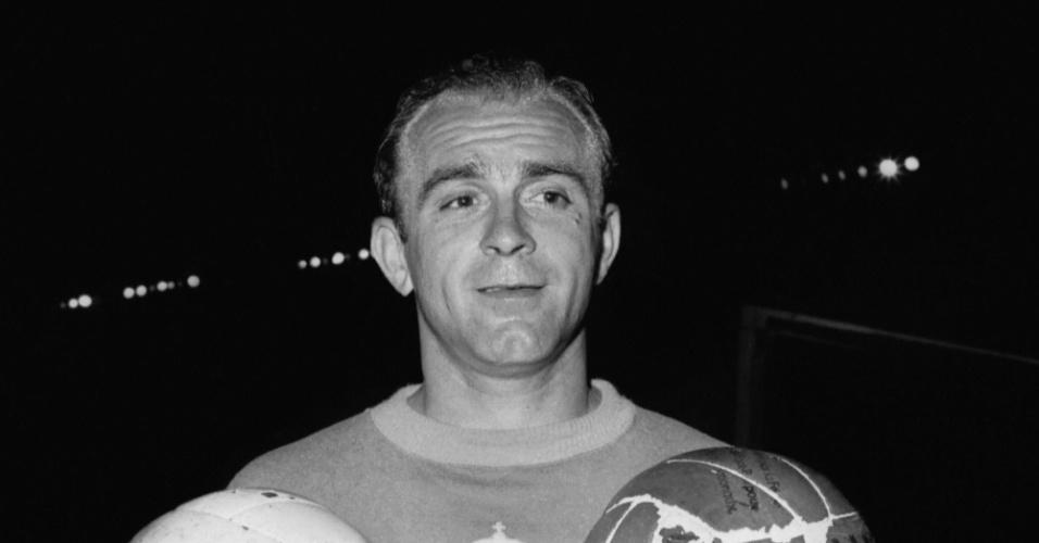 Di Stéfano, ex-jogador do Real Madrid (Arquivo)