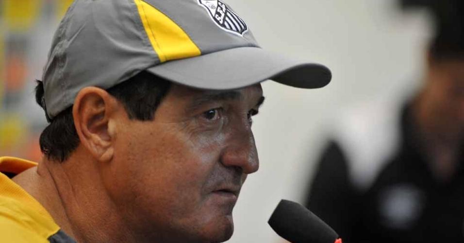 Muricy Ramalho concede entrevista coletiva no CT Rei Pelé