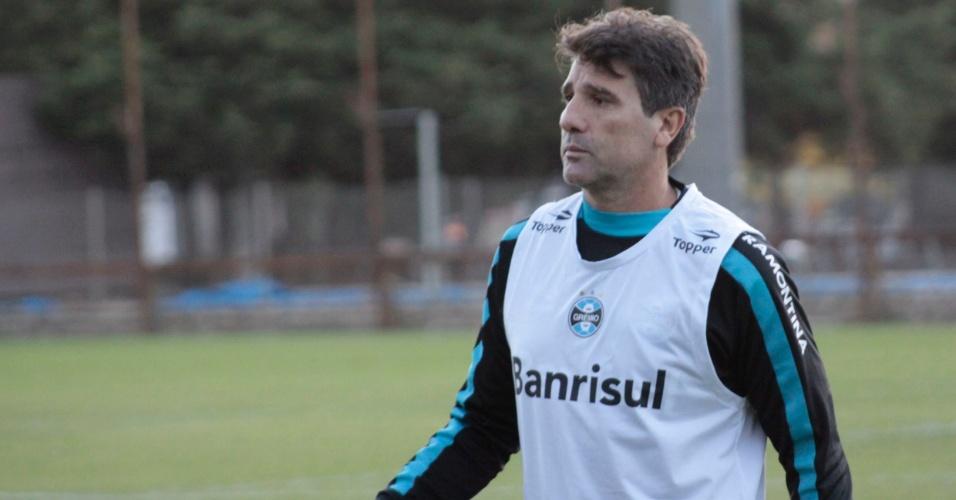 Renato Gaúcho em treinamento do Grêmio (27/05/2011)