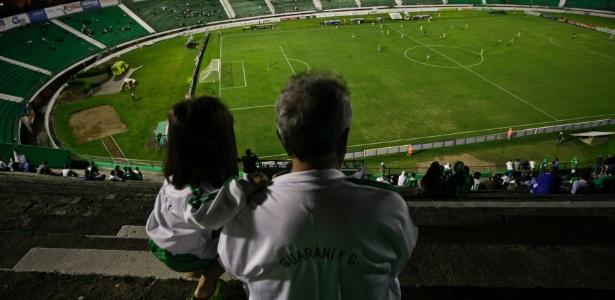 Brinco de Ouro foi palco da polêmica partida entre Guarani e Palmeiras em 1968 - Adriano Vizoni/Folhapress