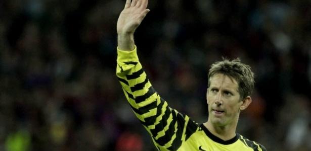 Van der Sar jogou ao lado de Cristiano Ronaldo e Rooney no Manchester United
