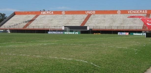 Estádio Giulitte Coutinho, do América (RJ), será casa do Fluminense no Brasileiro-2016
