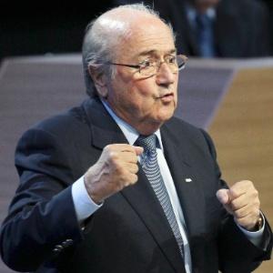 Em congresso, Joseph Blatter disse ter o dever e a responsabilidade colocar a Fifa de volta ao caminho