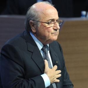 Blatter apresentou proposta de definir sedes das Copas do Mundo durante o congresso da entidade